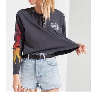 Urban outfitters flames long sleeve